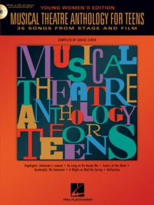 Musical Theatre Anthology For Teens : Young Women's Edition (Book/Online Audio), Paperback / softback Book