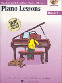Hal Leonard Student Piano Library : Piano Lessons Book 2 (Book/Online Audio), Paperback / softback Book