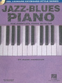 Jazz-Blues Piano (Book/Online Audio), Paperback / softback Book