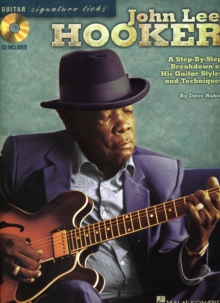 John Lee Hooker : Signature Guitar Licks, Paperback / softback Book
