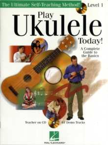 Play Ukulele Today] Level 1 (Book/Online Audio), Paperback Book