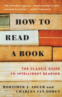 How to Read a Book, Paperback Book