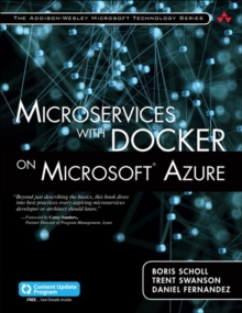 Microservices with Docker on Microsoft Azure (includes Content Update Program), Paperback / softback Book