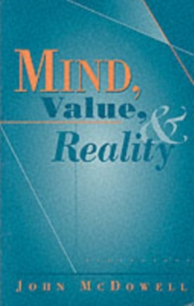 Mind, Value and Reality, Paperback Book