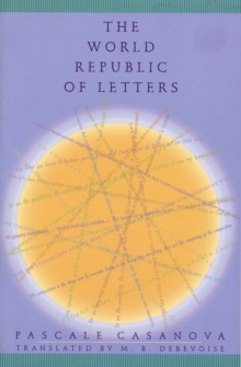 The World Republic of Letters, Paperback Book