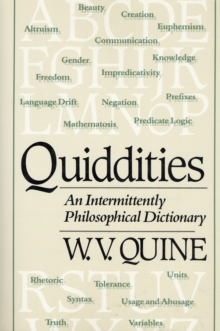 ontological relativity and other essays pdf Quine speaks for himself thomas ricketts university of pittsburgh  ontological relativity and other essays, (new york: columbia university press.