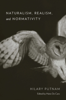 Naturalism, Realism, and Normativity, Hardback Book