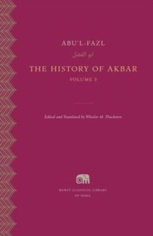 The History of Akbar, Volume 3, Hardback Book