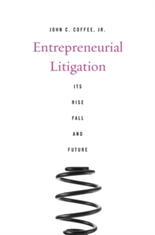 Entrepreneurial Litigation, Hardback Book