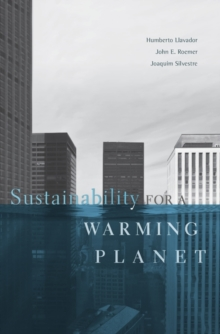Sustainability for a Warming Planet, Hardback Book