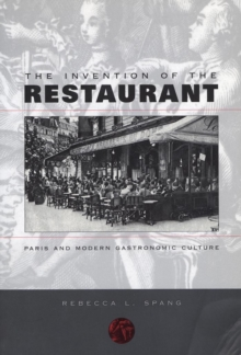 The Invention of the Restaurant, EPUB eBook
