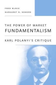 The Power of Market Fundamentalism : Karl Polanyi's Critique, Paperback / softback Book
