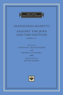 Against the Jews and the Gentiles : Books I Iv, Hardback Book