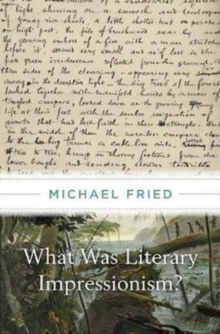What Was Literary Impressionism?, Hardback Book