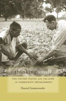 Thinking Small : The United States and the Lure of Community Development, Paperback / softback Book