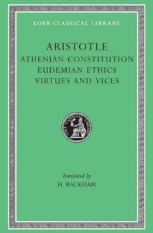 The Athenian Constitution, Hardback Book