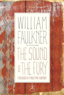 The Sound and the Fury, Hardback Book