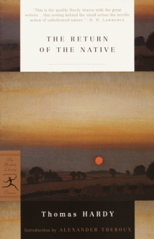 Return of the Native, EPUB eBook