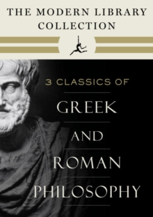 Modern Library Collection of Greek and Roman Philosophy 3-Book Bundle, EPUB eBook