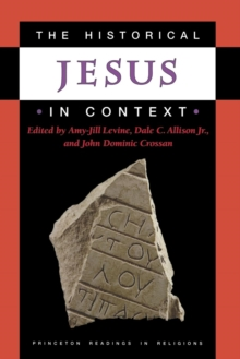 The Historical Jesus in Context, Paperback / softback Book