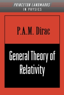 General Theory of Relativity, Paperback / softback Book
