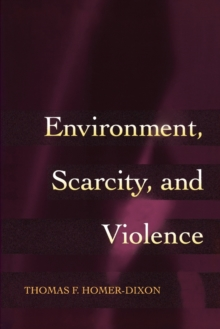 Environment, Scarcity, and Violence, Paperback / softback Book