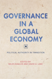 Governance in a Global Economy : Political Authority in Transition, Paperback / softback Book