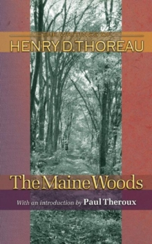 The Maine Woods, Paperback / softback Book