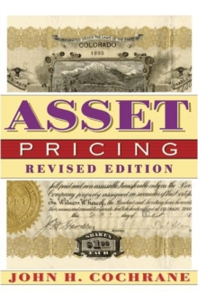 Asset Pricing, Hardback Book