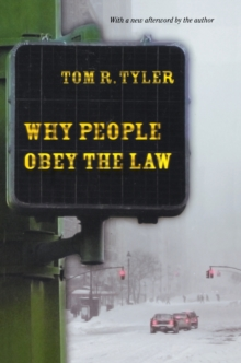 Why People Obey the Law, Paperback / softback Book