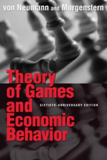 Theory of Games and Economic Behavior, Paperback Book