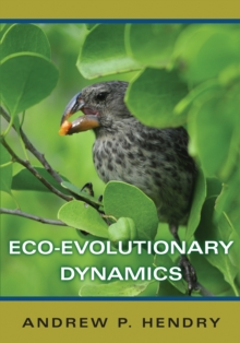 Eco-evolutionary Dynamics, Hardback Book