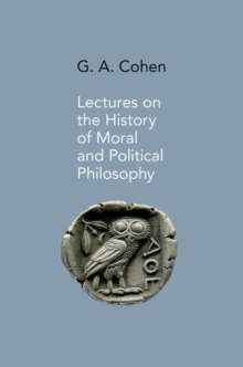 Lectures on the History of Moral and Political Philosophy, Hardback Book