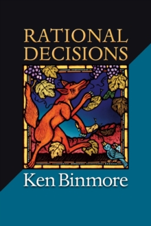 Rational Decisions, Paperback / softback Book