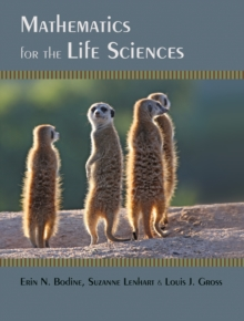 Mathematics for the Life Sciences, Hardback Book
