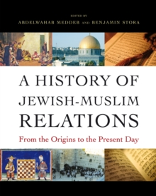 A History of Jewish-Muslim Relations : From the Origins to the Present Day, Hardback Book
