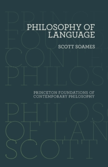 Philosophy of Language, Paperback / softback Book