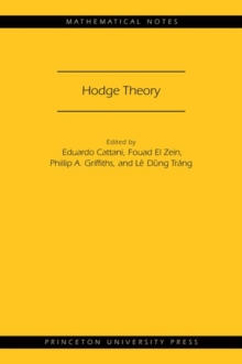 Hodge Theory (MN-49), Paperback Book