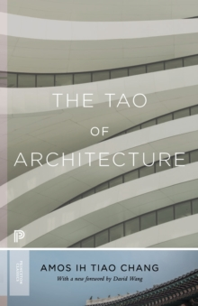 The Tao of Architecture, Paperback / softback Book