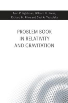 Problem Book in Relativity and Gravitation, Paperback / softback Book
