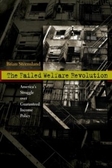 The Failed Welfare Revolution : America's Struggle over Guaranteed Income Policy, Paperback Book