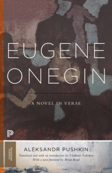 Eugene Onegin : A Novel in Verse: Text (Vol. 1), Paperback / softback Book