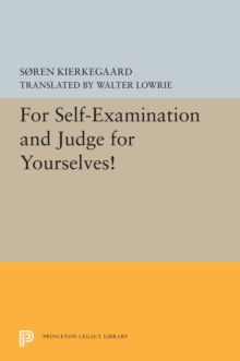 For Self-Examination and Judge for Yourselves!, PDF eBook