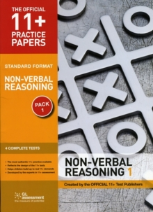 11+ Practice Papers, Non-verbal Reasoning Pack 1, Standard : Test 1, Test 2, Test 3, Test 4, Pamphlet Book