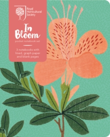 RHS In Bloom Pocket Notebook Set, Diary Book