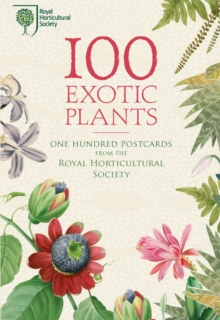 100 Exotic Plants from the RHS, Postcard book or pack Book
