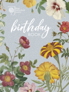 RHS Birthday Book, Hardback Book