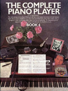 The Complete Piano Player : Book 4, Paperback / softback Book