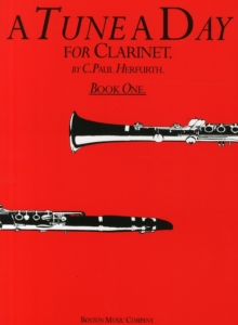 A Tune A Day For Clarinet Book One, Paperback / softback Book