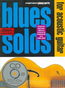 Blues Solos For Acoustic Guitar, Paperback / softback Book